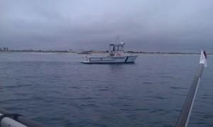 Ventura Harbor Patrol escort